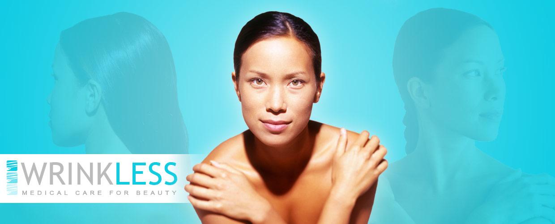 wrinkless cosmetische behandelingen logo banner